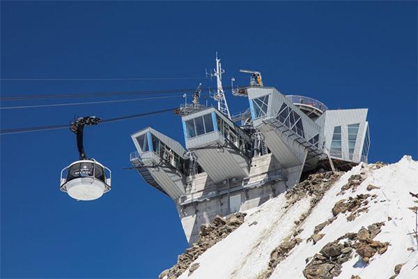 foto dello skyway monte bianco