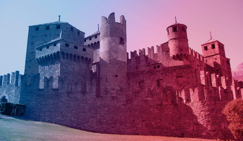 foto del castello di fenis